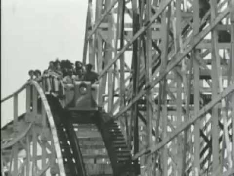 LINCOLN PARK COMET roller coaster, North Dartmouth, New Bedford, MA 1947