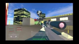 Roblox última greve DSR 50/35 + Kill gameplay