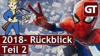 Thumbnail für Große Highlights & Enttäuschungen 2018 im GameTube-Jahresrückblick - Teil 2 - GT Talk #11