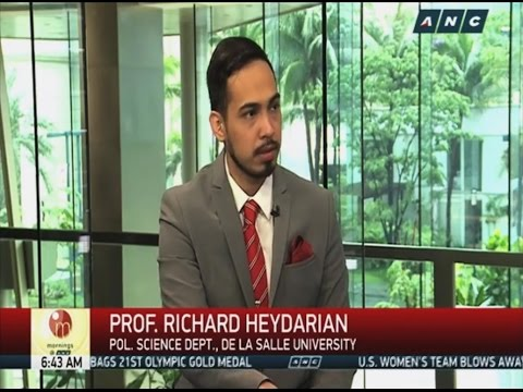 Prof. Richard Heydarian on China's post-arbitration strategy in South China Sea - ABS-CBN interview