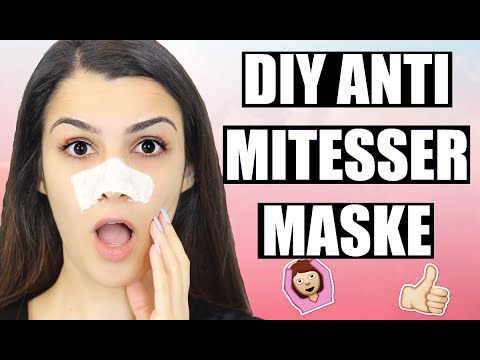 diy anti mitesser maske f r reine haut strip zum entfernen kindofrosy youtube. Black Bedroom Furniture Sets. Home Design Ideas