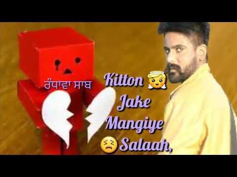 Sajna Je Sambhall Gaya Full Song  Prabh Gill Ammy Virk SONG WHATSAPPSTATUS