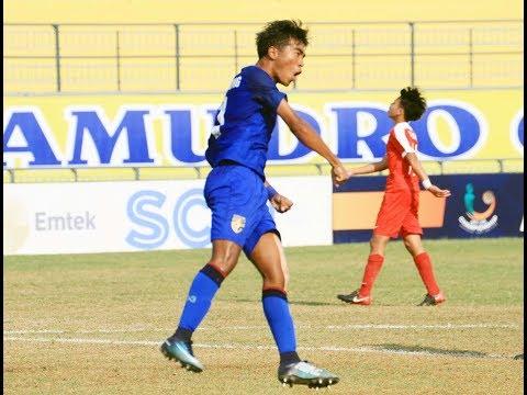 AFF U-16 Championship: Thailand vs Singapore