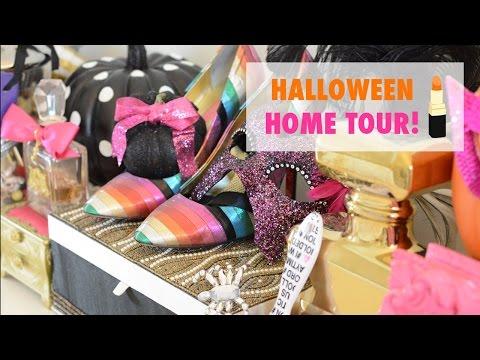 Halloween Home Tour & 10 Tips for Seasonal Decor!