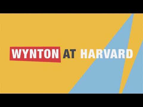 "Wynton at Harvard: ""Hidden in Plain View: Meanings in American Music"""