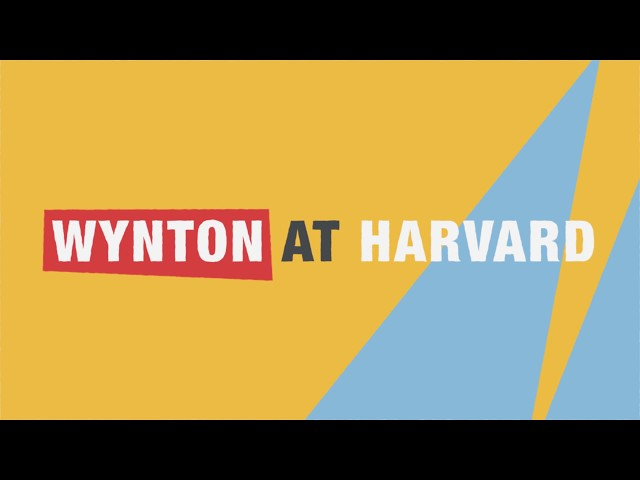 "Wynton at Harvard: ""Hidden in Plain View: Meanings in American Music"""