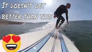 A swim, A Surf and a present from RMC - Surf Vlog 2021 #2