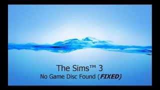 The Sims™ 3 | No Game Disc Found | (FIXED)