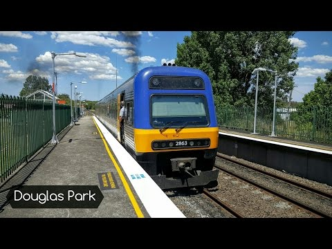 Sydney Trains Vlog 1378: Douglas Park