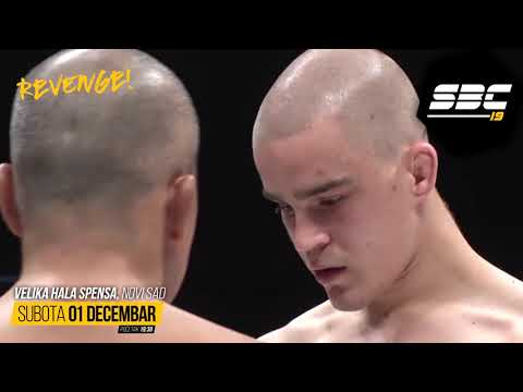 "SBC 19 - PROMO - Michel ""Demolidor"" Pereira vs Dusko Todorovic"