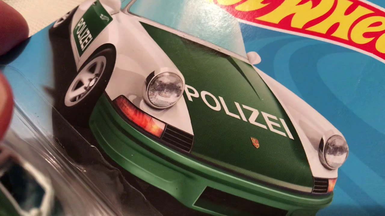 Hot Wheels 1971 Porsche 911 (2019 HW Rescue - Polizei | Police)