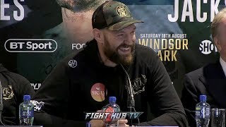 COMEDY GOLD! THE HILARIOUS TYSON FURY VS. FRANCESCO PIANETA FINAL PRESS CONFERENCE VIDEO