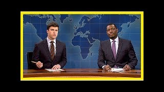 'SNL Weekend Update' Disses Trump: 'You Can't Be A Germaphobe If You're Raw Dogging Porn Stars'