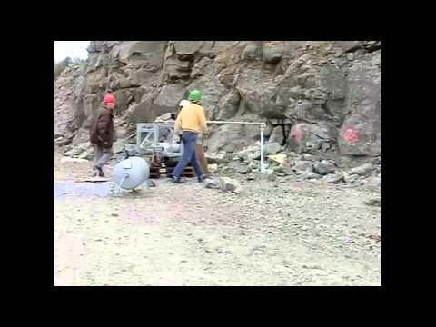 down-hole blast mining test two