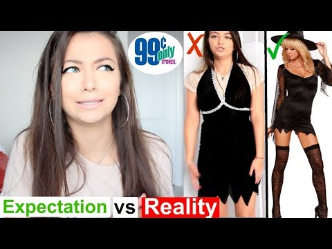 Download Youtube: Trying On $1 Halloween Costumes! 99 CENT STORE PRODUCT TESTING