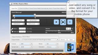 How to Make Ringtones for any Mobile phone for FREE. Free Ringtone software
