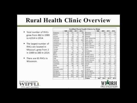 Rural Health Clinics 101