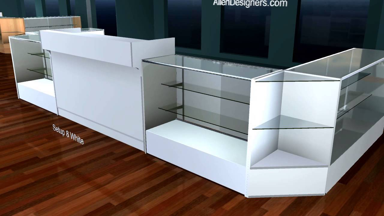 Retail Display Counter And Showcase Kiosk Avi Youtube
