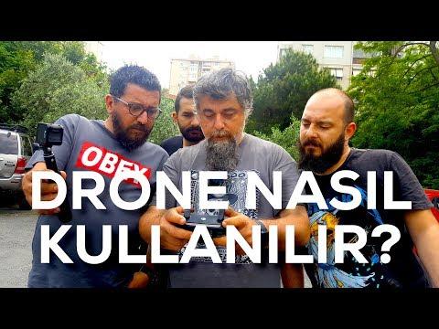 Drone Nasıl Kullanılır? İlk Ders 1.Bölüm ( nasıl yapılır inceleme vlog review)