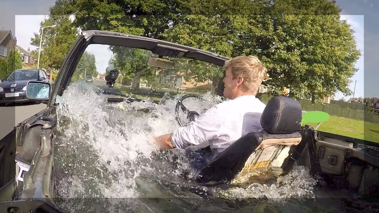 BMW Hot Tub First Tests and Issues - YouTube