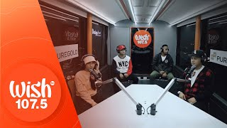 "Jr. Crown, Kath, Cyclone, Young Weezy perform ""Malayo Ka Man"" LIVE on Wish 107.5 Bus"