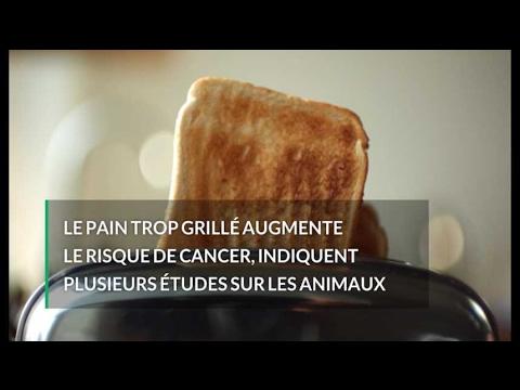 Voilà pourquoi vous ne devriez pas manger votre pain trop grillé