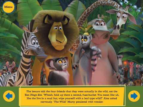 MADAGASCAR Movie Storybook FULL - Genuine Audio Narration!!!
