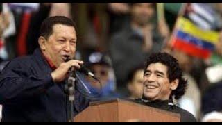 Comandante Hugo Chávez en Mar del Plata (ARG 2005)