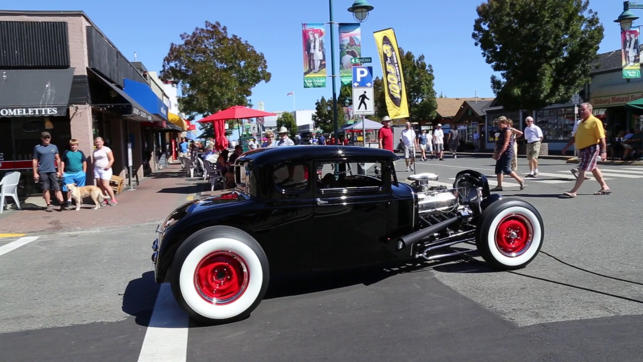 Traditional hot rod 1931 model a 5 window coupe - YouTube