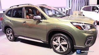 2019 Subaru Forester Touring - Exterior and Interior Walkaround - 2018 New York Auto Show
