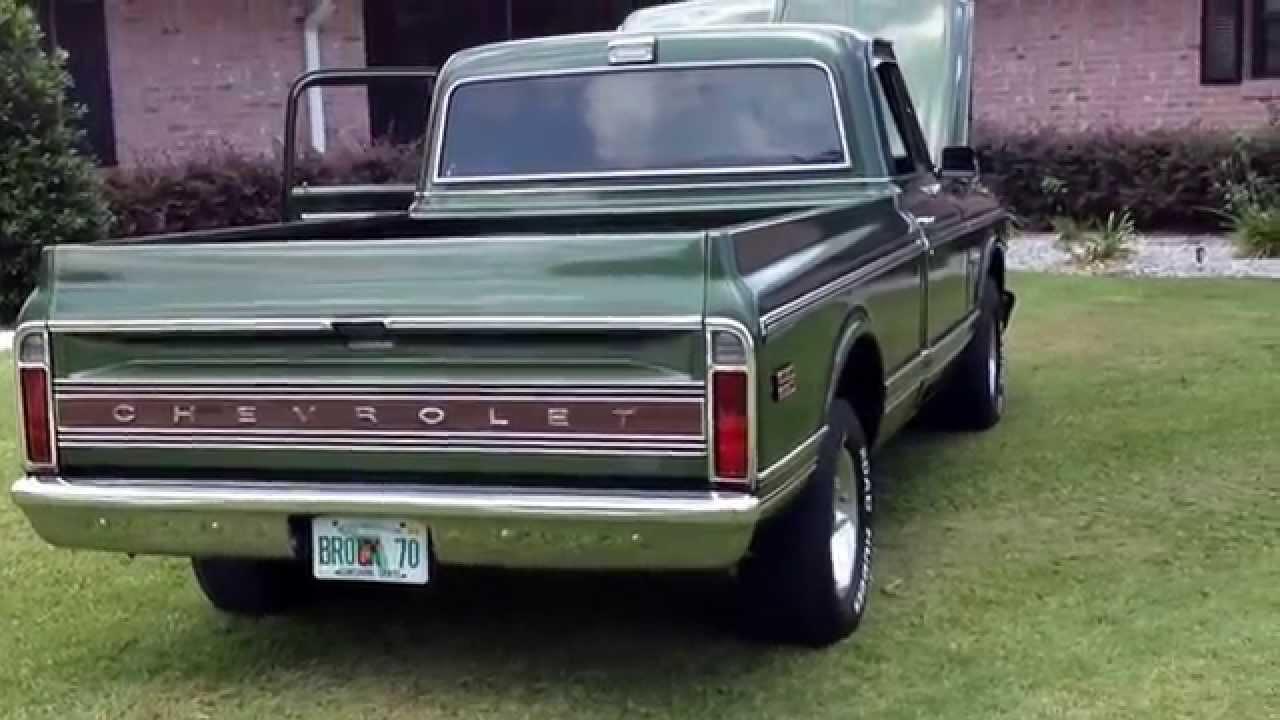 chevrolet trucks 1970s