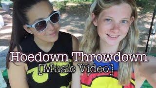 Hoedown Throwdown [Music/blooper video]