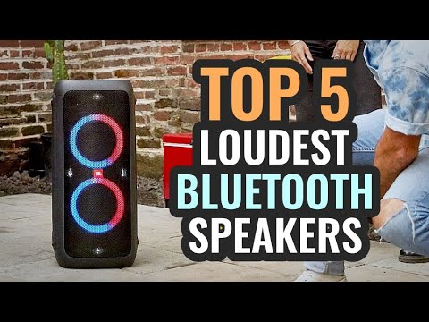 Loudest Bluetooth Speakers For 2020! TOP 5 / Best