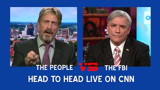 John McAfee and the FBI Finally Face Off On CNN