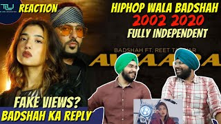 Gambar cover AWAARA I OFFICIAL MUSIC VIDEO I BADSHAH FT. REET TALWAR | Punjabi Reaction + Breakdown | TLU