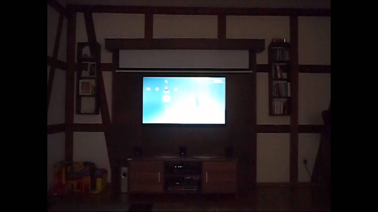 DIY LED TV Wand  Cinewall  YouTube