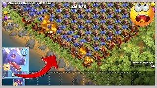 Clash of clans Dragon s vs 250 Air Bombs OMG Who is Won ?