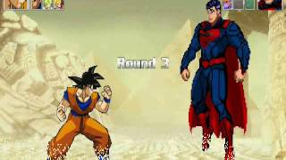 Download Video Goku Vs Hulk, The Thing and Superman MP3 3GP MP4