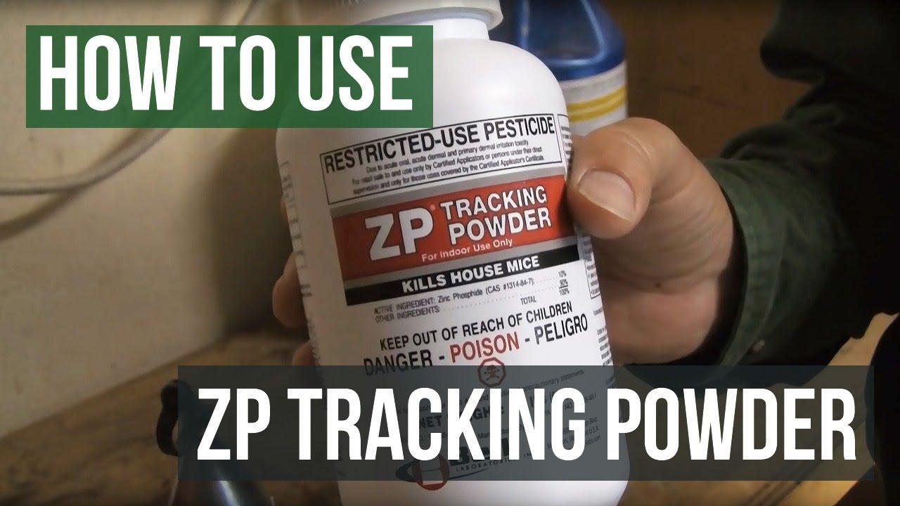 ZP Tracking Powder- How to kill rats
