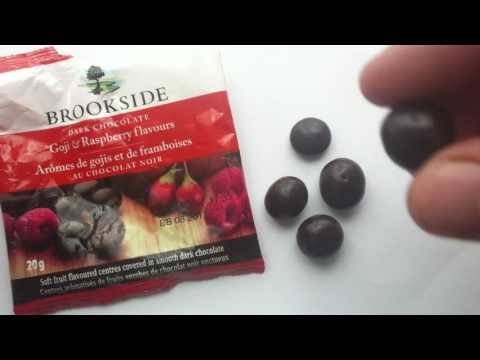 Brookside Fruit Flavored Centers Dark Chocolate Goji And Raspberry Review