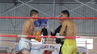 مباراة تحديد بطل أفريقيا في الـ Kickboxing فبراير 2017 بين بطل مصر وبطل الجزائر - الجزء الأول