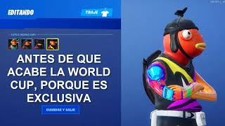 NEW SKIN STYLE FORTNITE WORLD CUP FISH STICK