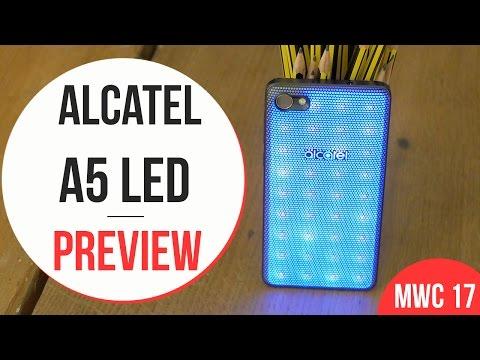Anteprima Alcatel A5 LED - MWC 2017
