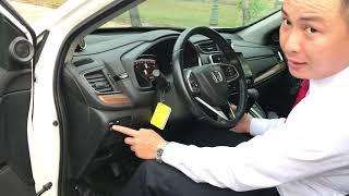 Hướng Dẫn Sử Dụng Xe Ô tô Honda CRV 1.5L Turbo 2019 Nhập Khẩu 7 chỗ Cho Người Mới - Khanh Honda Ôto