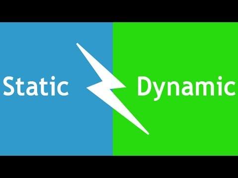 Статический и динамический IP адреса