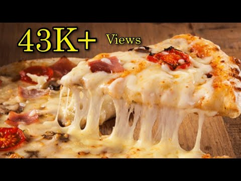 Pizza Recipe  / Traditional Italian Pizza / Start to Finish Homemade Pizza Video Recipe with Dough