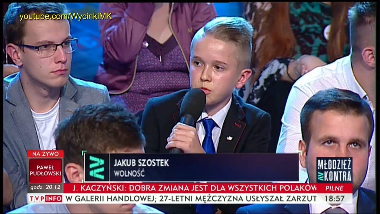 Młodzież kontra 614: Jakub Szostek (Wolność) vs Marek Sawicki (PSL) 21.10.2017