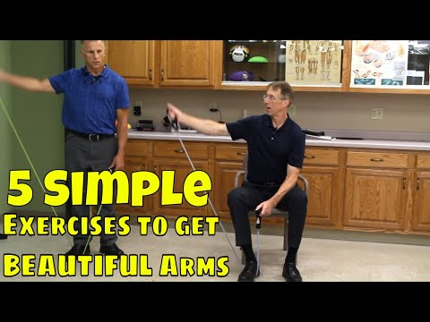 5 Simple Exercises to Get Beautiful Arms