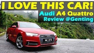 (2018) Audi A4 2.0 Quattro Review at Genting Highlands, Malaysia #audiA4quattro #audimalaysia