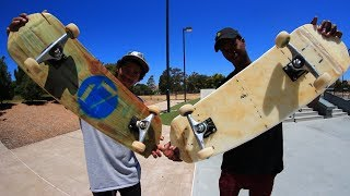 YOU MAKE IT WE SKATE IT WARS! | VINNIE BANH VS NIGEL JONES